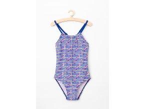 Dívčí plavky jednodílné (Barva Modrá, Velikost 110/116)