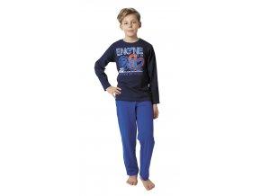 Chlapecké pyžamo dlouhý rukáv Engine (různé barvy)