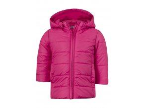 Kojenecké bunda s odepínací kapucí (dva růžové odstíny)