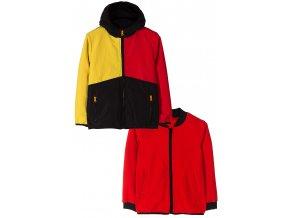 Chlapecká přechodová bunda 2v1 (větrovka a mikina)