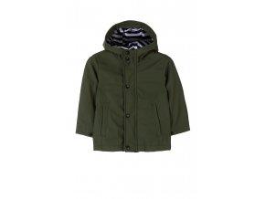 Chlapecká bunda (větrovka) pogumovaná proti dešti