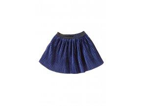 Dívčí sametová sukně