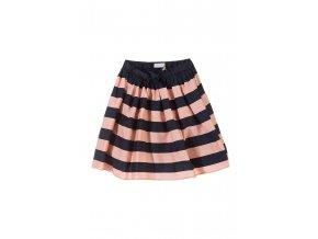 Dívčí bavlněná sukně proužkovaná