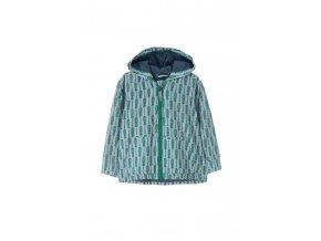 Kojenecká bunda (větrovka) s fleecovou podšívkou