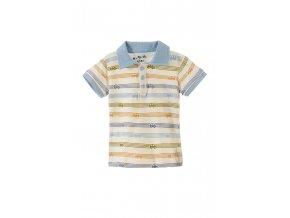 Kojenecké tričko krátký rukáv s límečkem