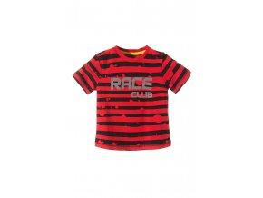 Chlapecké proužkované tričko krátký rukáv Race