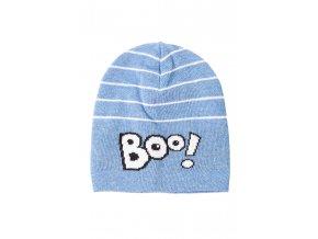 Chlapecká čepice s nápisem Boo