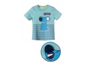 Chlapecké tričko krátký rukáv s veselým potiskem