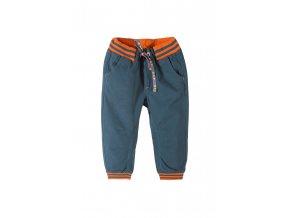 Chlapecké bavlněné kalhoty s gumou dole