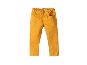 Chlapecké bavlněné žluté kalhoty
