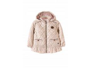 Dívčí přechodová bunda s odepínací kapucí