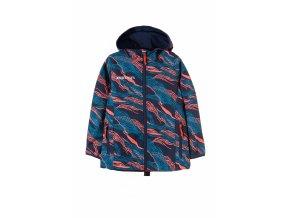 Dívčí softshellová bunda s kapucí