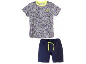 Chlapecký komplet - tričko krátký rukáv a kraťasy