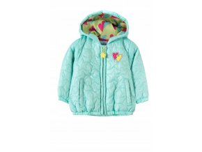 Kojenecká přechodová bunda s kapucí Hvězdičky
