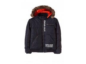 Chlapecká zimní bunda s odepínací kapucí