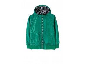 Chlapecká lehká bunda (větrovka) s kapucí