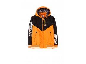 Chlapecká bunda (větrovka) s kapucí