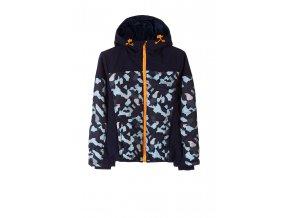 Chlapecká softshellová bunda s kapucí