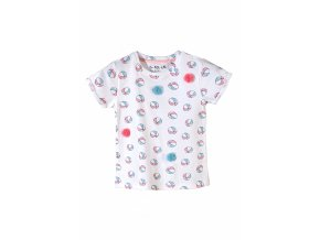 Kojenecké tričko krátký rukáv Balónky