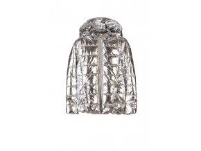 Dívčí zimní bunda s kapucí