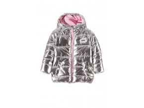 Kojenecká zimní bunda s kapucí a fleecovou podšívkou