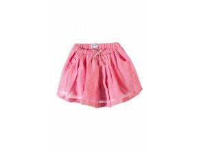 Kojenecká sukně růžová
