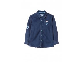 Kojenecká džínová košile Ťapky