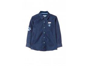 Kojenecká džínová košile