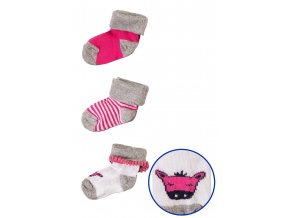 Mix kojeneckých ponožek - 3 páry v balení