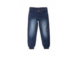 Dívčí džíny s gumou dole
