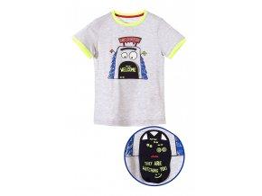 Chlapecké tričko krátký rukáv s 3D aplikací