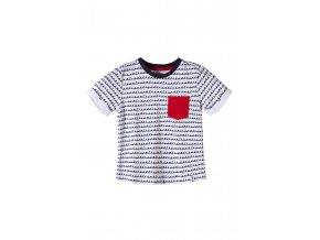 Chlapecké tričko krátký rukáv s potiskem a kapsičkou