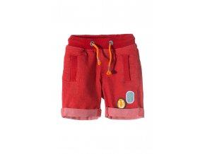 Chlapecké červené džínové kraťasy