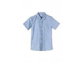 Chlapecká košile krátký rukáv s potiskem