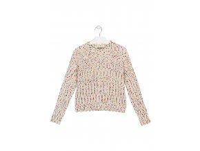 Dívčí žinylkový svetr