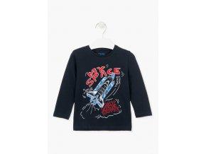 Chlapecké tričko dlouhý rukáv Raketa nebo Motorka (různé barvy)