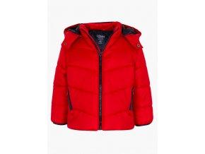 Chlapecká zimní bunda s odepínací kapucí (černá barva)