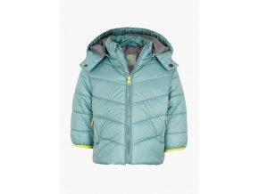 Kojenecká zimní bunda s odepínací kapucí