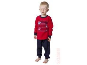 Chlapecké pyžamo dlouhý rukáv (různé barvy)