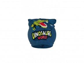 Chlapecká čepice jaro & podzim Dinosaurus (různé barvy)