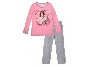 Dívčí pyžamo dlouhý rukáv Violetta