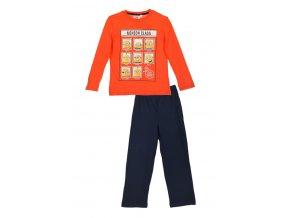 Chlapecké pyžamo dlouhý rukáv Mimoni Class