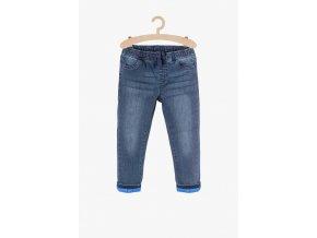 Chlapecké zateplené džíny s podšívkou