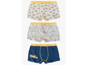 Chlapecké boxerky - 3 kusy v balení