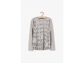 Chlapecké tričko dlouhý rukáv s potiskem Transorm