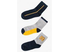 Mix chlapeckách ponožek - 3 páry v balení