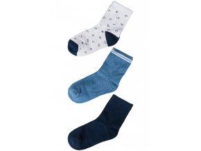 Chlapecké ponožky - 3 páry v balení