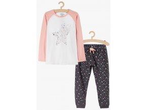 Dívčí pyžamo dlouhý rukáv