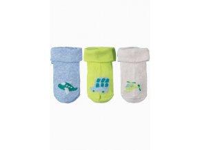 Kojenecké ponožky letadla - 3 páry v balení