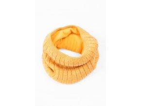 Dívčí žlutý nákrčník